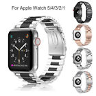 For Apple Watch iWatch 5/4/3/2/1 Stainless Band Watch Strap Bracelet 42mm/44mm image