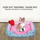 Dog Bed Pet Soft Warm PP Cotton Cave Cute Detachable Dog Beds Plush Kennel Nest