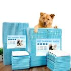 Pet Dog Urine Pad Diapers Super Absorbent Training Cleaning Antibacterial Nappy