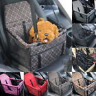 Pet Dog Booster Car Seat Safe Basket Puppy Travel Auto Carrier Bags Pet Supply