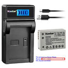 Kastar Battery LCD Charger for Canon NB-10L NB-10LH NB10LH & Canon CB-2LC CB2LC