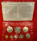 1974 Jamacia uncirculated coin set in folder, very nice no flaws, see photos