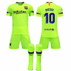 17/18/19 Soccer Boys Football Club FCB 3-14 Jersey Shirt Kids Kits &amp; Socks <br/> UK STOCK✔FAST DELIVERY✔QUICK DISPATCH,Special offer !!!