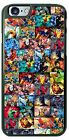 Super Heroes Comic Book Phone Case Cover For iPhone Samsung HTC  LG