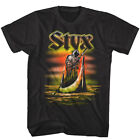 Styx Ferryman Grim Reaper Tour Men's T Shirt Rock Band Album Concert Merch Top image