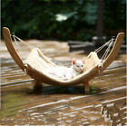 Cat Hammock Window Sunny Seat Resting Kitty Sill Cozy Cat Perch  Wood