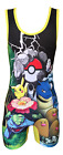 Pokemon Wrestling Singlet Folkstyle- adult mens & youth boys