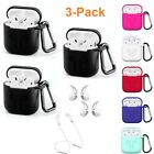 Airpods Strap Case Hooks Set Silicone Shockproof Protect Cover For Apple Airpods
