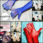 Men Sexy 8D Oil Shiny Glossy Long Gloves Seamless Pantyhose Tight Stocking Glove