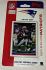 2006 Topps NFL Football Team Set Sealed fot the New England Patiots 12 card Pack