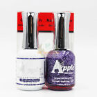 Apple Soak off Gel+Lacquer Matching DUO *GLITTER COLOR COLLECTION* (P4 #509-572)