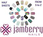 jamberry half sheets * S to Z * buy 3+ get 10% off sale ~ new stock 2/17 🎁