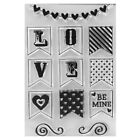 Transparent Silicone Clear Rubber Stamp Cling DIY Scrapbooking Cards Animal Deco