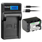 Kastar Battery LCD Charger for JVC BN-VG121U JVC Everio GZ-HD550 Everio GZ-HD620
