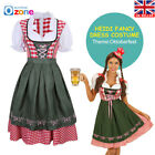 Oktoberfest Beer Maid Dress German Bavarian Dirndl Traditional Beer Costume