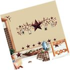 RoomMates RMK1276SCS Country Stars and Berries Peel & Stick Wall Decals, 40 C...