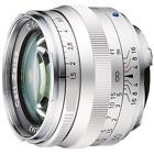 Carl Zeiss C Sonnar T 50Mm F1.5 Zm Mount Lens - Silver - Made In Japan New