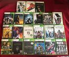 LOT OF XBOX 360 GAMES *MINT* HALO* SKYRIM* ASSASSIN'S* LEFT 4 DEAD  COMBINE SHIP