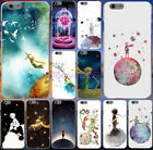 Little Prince Watercolor Art Soft TPU Black Case for iphone X XS Max XR 8 7 6