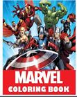 Marvel coloring Book: Super Heroes, Avangers, Spider-Man Paperback r