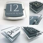 Door Number House Signs Personalised for your Home Acrylic Numbers and Names
