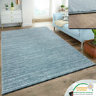 Blue Carpet Modern Rug Plain Living Room Bedroom Floor Mats Low Soft Pile Mats