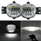 For 02-09 DODGE RAM 1500/03+ 2500 3500 BUMPER DRIVING LED FOG LIGHTS LAMP CHROME