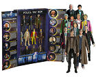"5"" Doctor Who Eleven (11) Drs Action Figure Box Set"