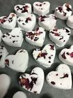20  Mini Heart bath bombs Special Limited Offer - Smell Amazing