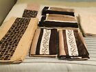 Queen Bed Pillow Decorative Sham Sets (5) Bath Rug Small Hand Towel New