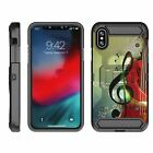 "For Apple iPhone XR (6.1"") Full Body Armor Rugged Holster Belt Clip Case"