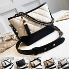 Convertible Quilted Faux Leather Small Single Shoulder Bag Crossbody Chain Purse