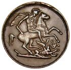 Great Britain TOKEN 1900's  EDWARD VII Saint George and the Dragon missing ear