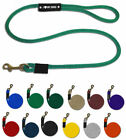 """3/8"""" x 4' 6' 8' - Rope Clip Dog Leash Soft Poly Made in USA! Washable UV Floats!"""