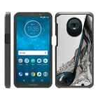 For Motorola Moto Z3 Play XT1929 Hybrid Dual Layer Hard Protective Slim Case