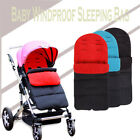 Windproof Keep Warm Baby Sleeping Bag Stroller Foot Cover Pushchair US Seller