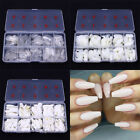 Ballerina Nails Artificial Fake Nails DIY Nail Tips Manicure Nail Art Salon Tool
