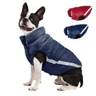 Dog Winter Coat Fleece Lined Clothes Reflective Jacket Outdoor Windproof XS-XL