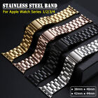 40/44mm iWatch Band Stainless Steel Bracelet Link Strap for Apple Watch 5 2 3 4 image
