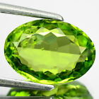 3.77 CTS  FINE QUALITY PARROT GREEN NATURAL PERIDOT GEMSTONE FROM PAKSITAN