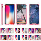 """For Apple iPhone XS Max (6.5"""") Slim Fitted Flexible TPU Case Shock Bumper Pink"""