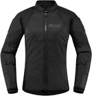 ICON Women's Automag 2 Textile Jacket STEALTH BLACK SHIPS FREE