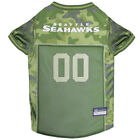 Seattle Seahawks NFL Pets First Licensed Dog Pet Mesh CAMO Jersey XS-XL NWT $33.96 USD on eBay