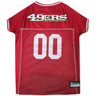 San Francisco 49ers Officially Licensed NFL Pets First Dog Jersey, Sizes XS-XXL $29.37 USD on eBay