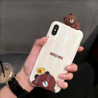 For I Phone XS Max 8 7 6S Laser Korean Cute Bear Bunny - Best Reviews Guide