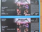 2 Karten / Tickets METALLICA Olympiastadion Berlin 06.07.19 FOS 1 FRONT OF STAGE