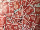 50 100 250 500 OR 1000 1st OR 2nd Class Unfranked Stamps Off Paper No Gum!