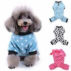 Pet Dog Cat Jumpsuit Pajamas Clothes Puppy Sweater Jumper Warm Costume Apparel