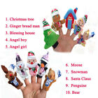 10Pcs Cute Finger Puppets Cloth Doll Baby Educational Hand Cartoon Animal Toy
