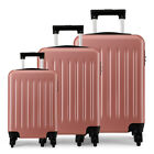 Ryanair Durable Case Hard Cabin 4 Wheels Spinner Trolley Luggage Strong Suitcase